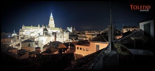 Panorámica del casco antiguo de Toledo