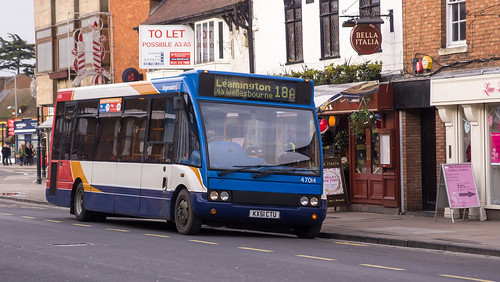 Stagecoach 47014, Wood Street, Stratford upon Avon