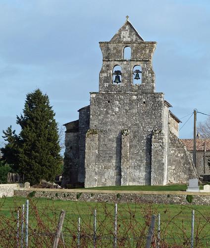 Les Leves et Thoumeyragues - Eglise Notre Dame de Thoumeyragues  01