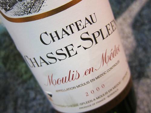 Chateau Chasse Spleen 2000