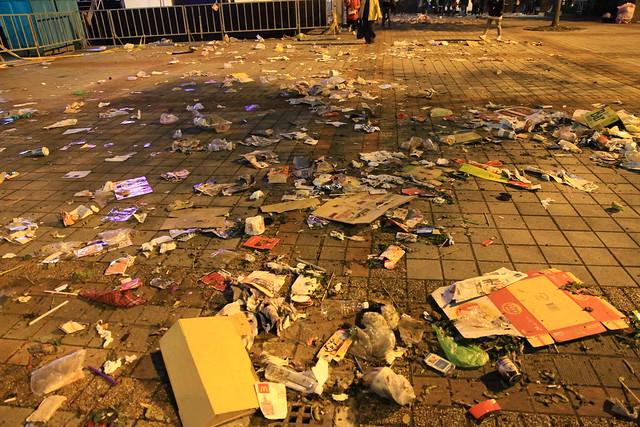2013台北市跨年晚會垃圾-100-201301010154-賴鵬智攝
