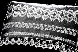 Antimacassar contrast