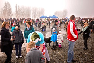 New Year's Day 2013 Polar Bear Swim | Centennial Beach, Tsawwassen