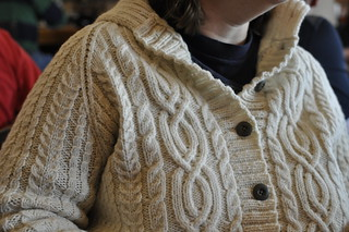 Hello Winter (is Coming) test knit