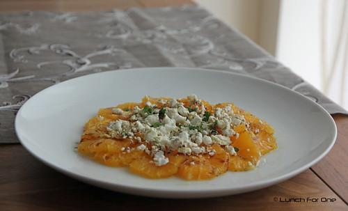 Orangen Carpaccio
