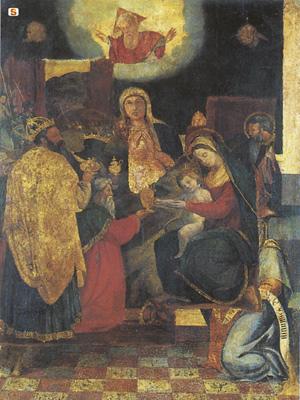 Retablo di Nostra Signora della Neve, foto di Sardegna Digital Library