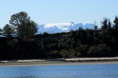 Comox Glacier from Kye Bay