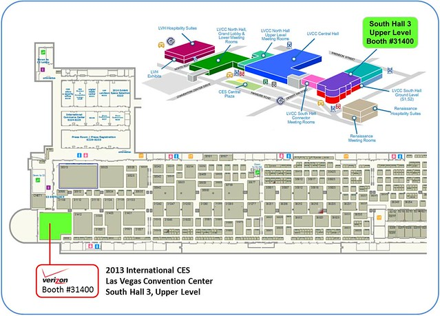 2013 CES - Verizon Booth Map - JPEG