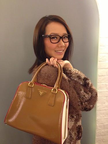 卓韻芝 Prada handbag by Reebonz.com