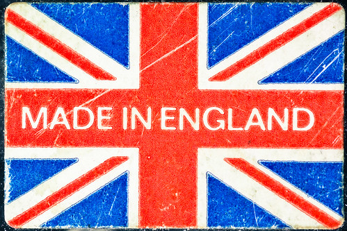 English china is highly sought after, which is why it is stamped with the Made in England mark.