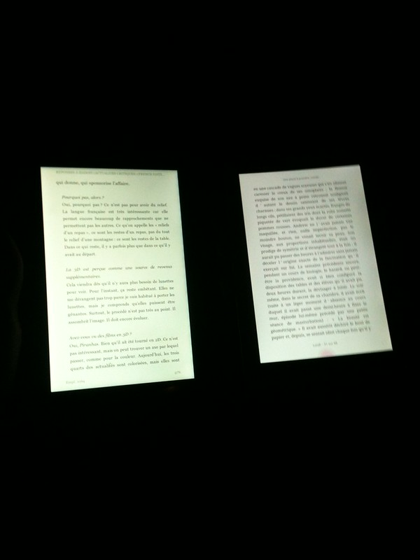 Kindle Fire vs. Kobo Arc, dans le noir