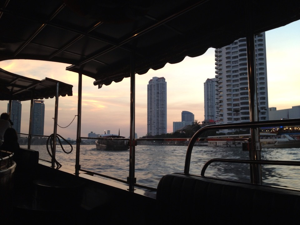 Sunset…..
