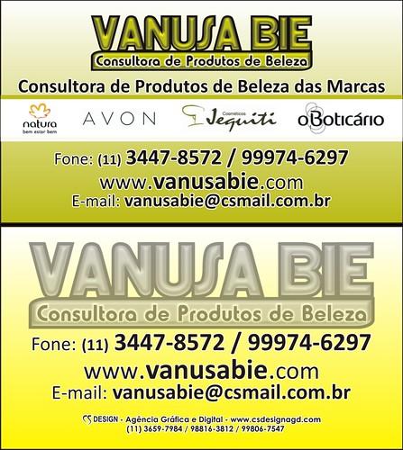 Cartão de Visita - VANUSA BIE by csdesignagd