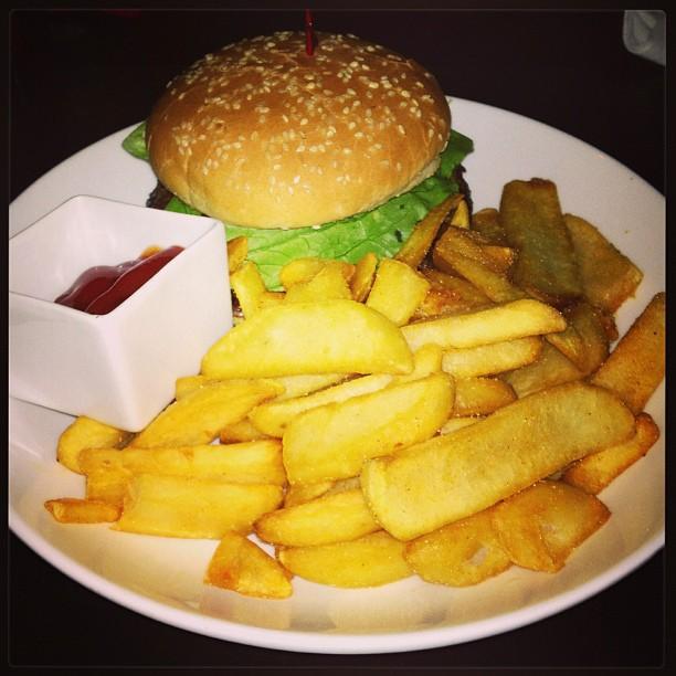 Mmmm Lucy's Burger!