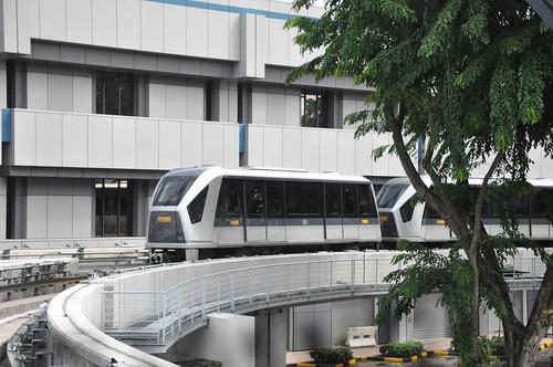 Changi Airport - Skytrain