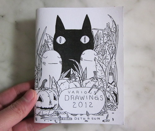 Various Drawings 2012 Zine