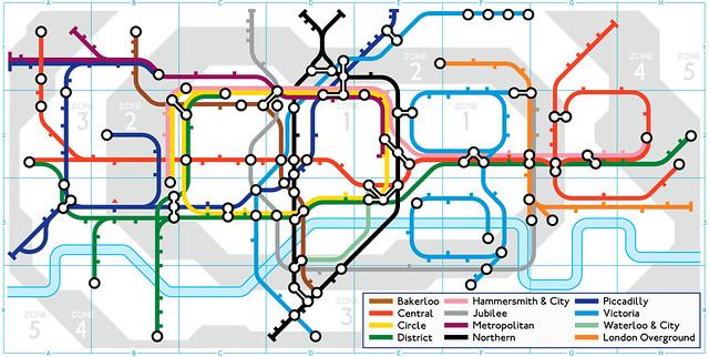 Google Doodle London Underground