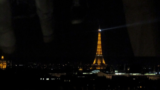 Tour Eiffel from Centre Pompidou