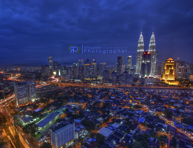 City view with KLCC