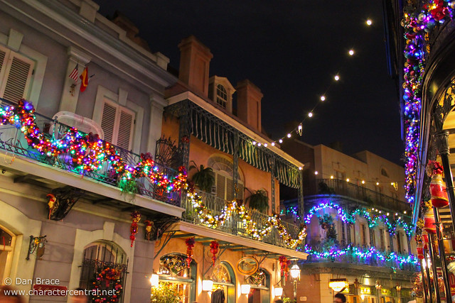 Christmas in New Orleans Square