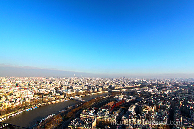 Eiffel View of Paris
