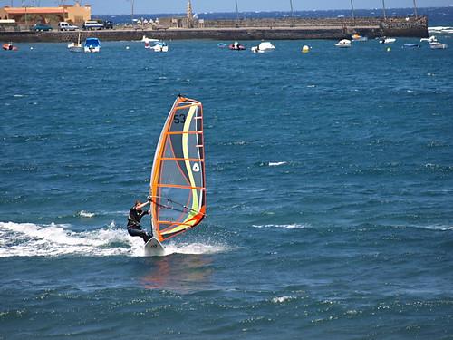 Windsurfer, El Medano