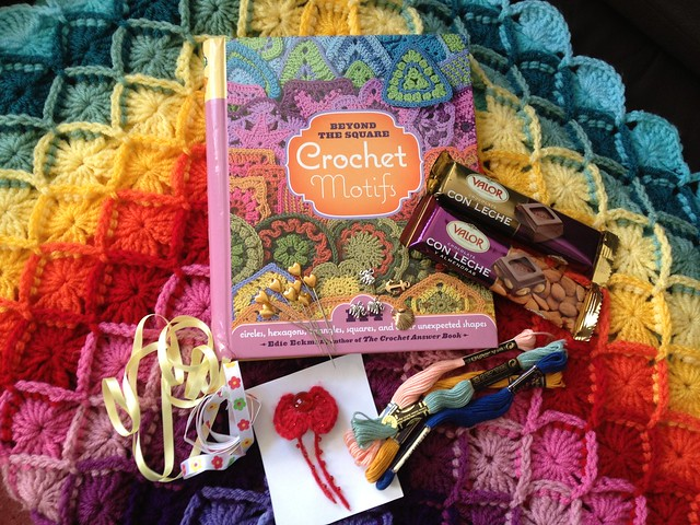 Giveaway gifts from Amanda at Crafty in the Med