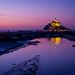 Purple Sunset by dawvon