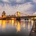 Early morning on the North Shore of Pittsburgh HDR by Dave DiCello