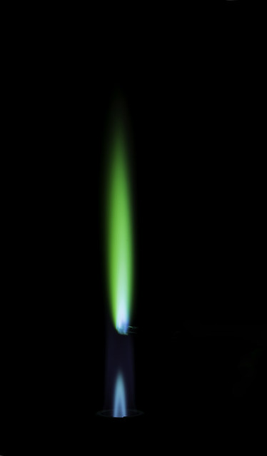 Copper flame test revd flickr photo sharing