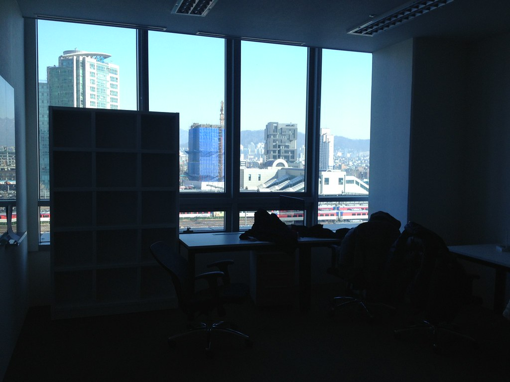 New office at Venture Port Business Incubating center of DMC Tower