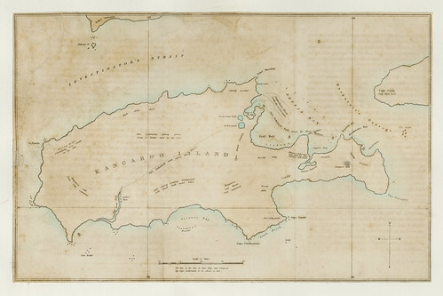 Kangaroo Island, South Australia, 1819.
