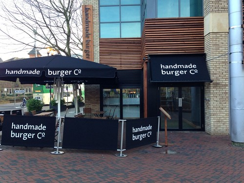 Handmade Burger Co, Reading