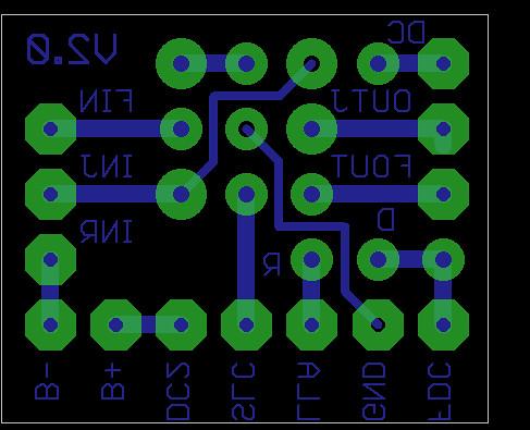3PDT PCB