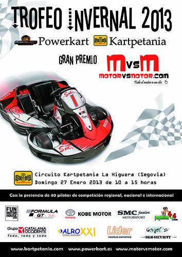Trofeo Invernal Powerkart-Kartpetania, Gran Premio MotorVSMotor