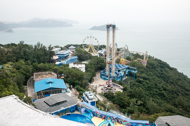 Ocean Park Tower Views: Marine World