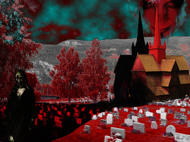 The dark side of Ringebu kirche