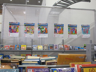 SCAPE Colouring Competition - winners on display at Central Library Tuam