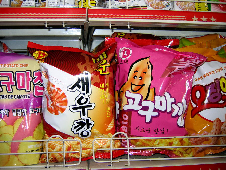Made-in-China Korean snacks(1)
