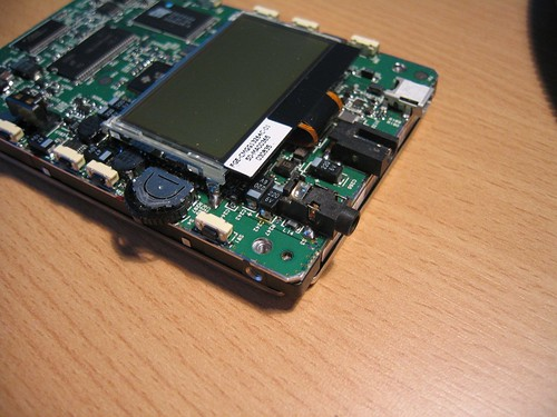 Pulling apart a Creative MP3 player