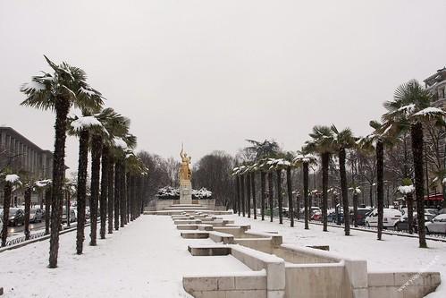 Fontaine athéna