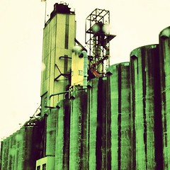 Grain elevators #port #pdx #industry