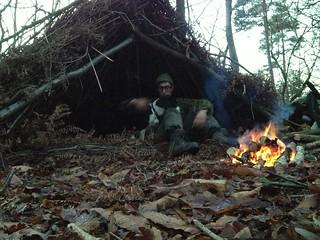 Shelter in Ashdown