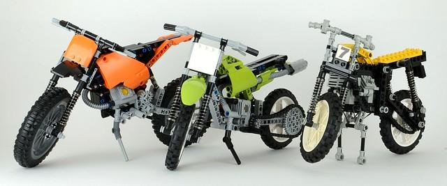 Как сделать мотоцикл из лего
