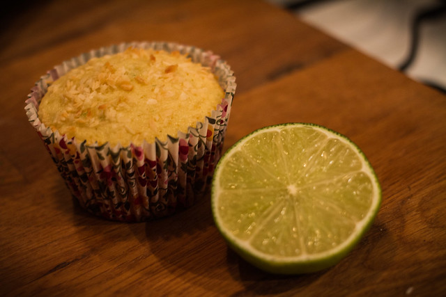 Coconut Key Lime Muffins | Flickr - Photo Sharing!