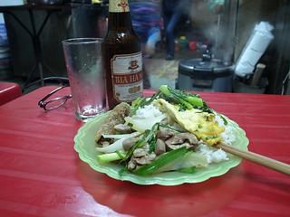 山盛りの夕食