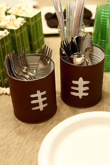 football utensil holders
