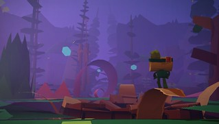 Tearaway on PS Vita