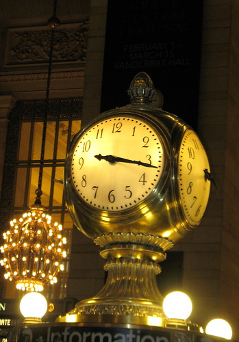 Information Booth Clock - Grand Central