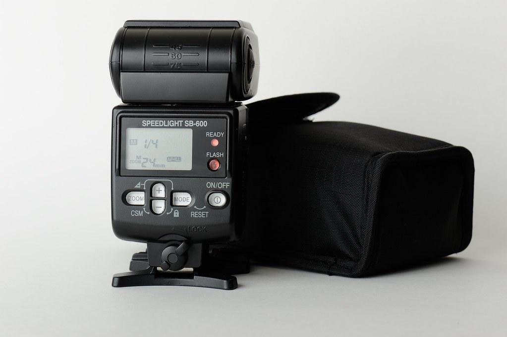 SB-600 Back